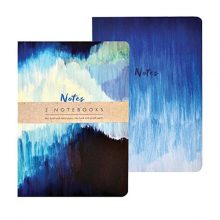 A5 exercise notebooks blue