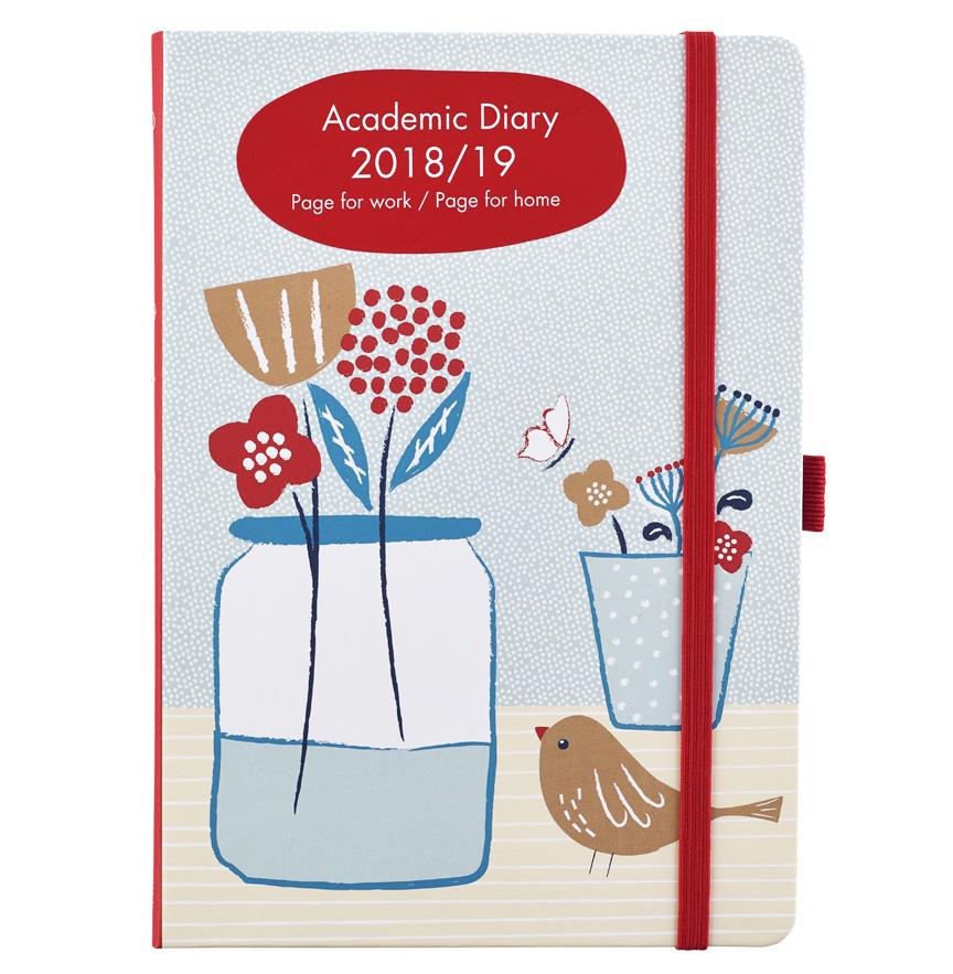 A5 academic diary 2018-2019
