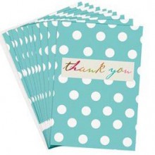 Thank you card packs by Caroline Gardner