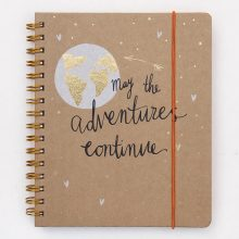 Travel journal by Caroline Gardner stationery.
