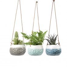Indoor plant pots hanging